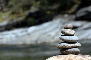 Balance ZEN in Nature